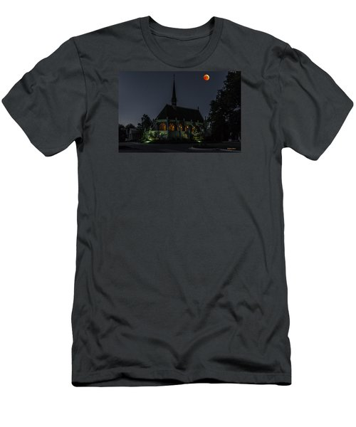 Ivy Chapel Under The Blood Moon Men's T-Shirt (Athletic Fit)