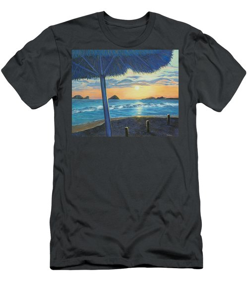 Ixtapa Men's T-Shirt (Slim Fit) by Susan DeLain