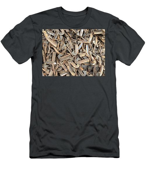 J Men's T-Shirt (Athletic Fit)