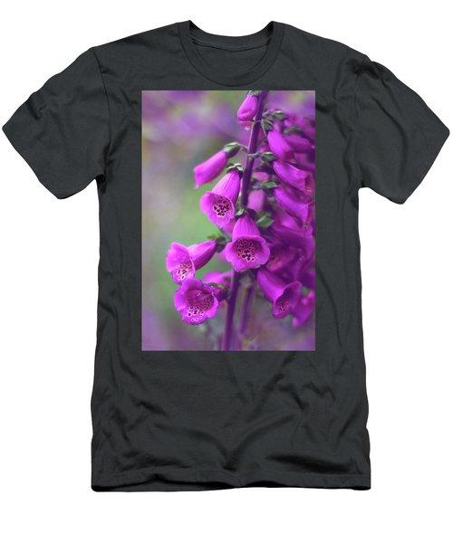 Fancy Foxglove Men's T-Shirt (Athletic Fit)