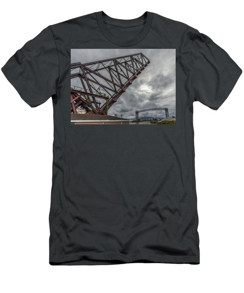 Jackknife Bridge To The Clouds Men's T-Shirt (Athletic Fit)