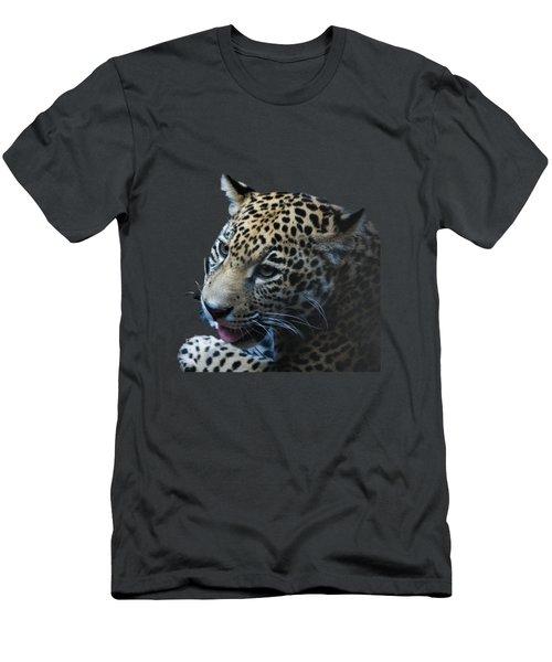 Jaguar Cub Men's T-Shirt (Athletic Fit)