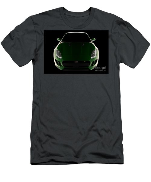 Jaguar F-type - Front View Men's T-Shirt (Athletic Fit)
