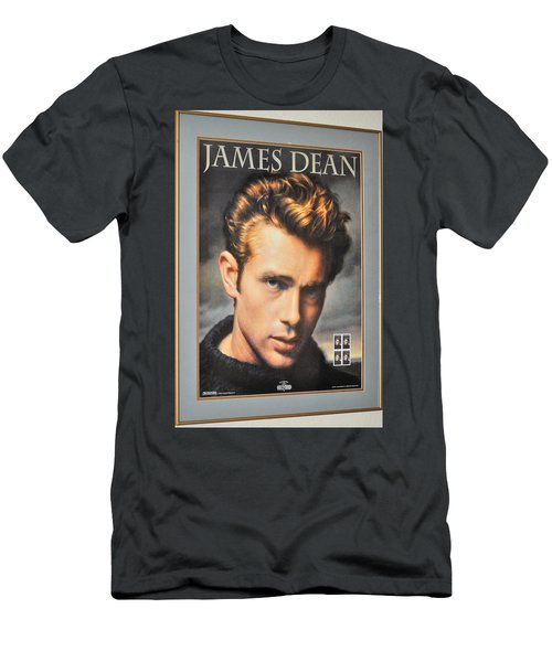 James Dean Hollywood Legend Men's T-Shirt (Athletic Fit)