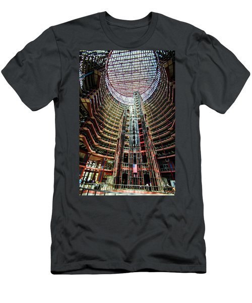 James R Thompson Center Interior Chicago Men's T-Shirt (Athletic Fit)