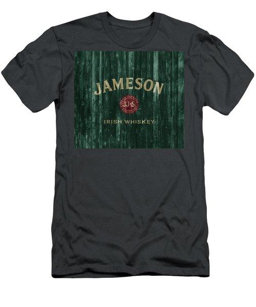 Jameson Irish Whiskey Barn Door Men's T-Shirt (Athletic Fit)