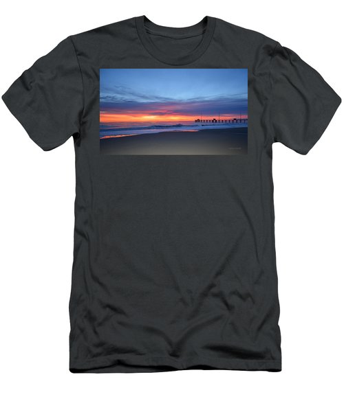 Men's T-Shirt (Athletic Fit) featuring the photograph January 8, 2018 by Barbara Ann Bell