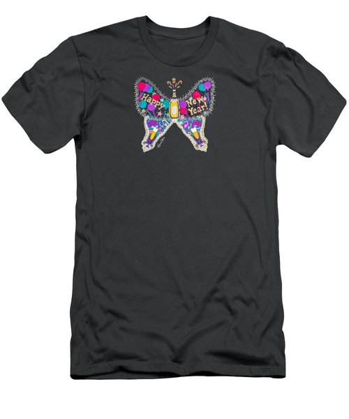 January Butterfly Men's T-Shirt (Athletic Fit)