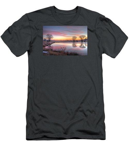 January Dawn Men's T-Shirt (Slim Fit) by Fiskr Larsen