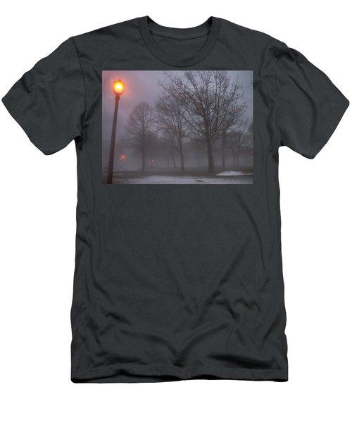 January Fog 3 Men's T-Shirt (Athletic Fit)