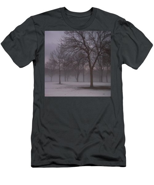 January Fog 4 Men's T-Shirt (Athletic Fit)