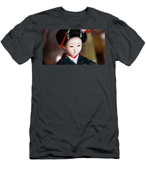 Japanese Doll Men's T-Shirt (Athletic Fit)