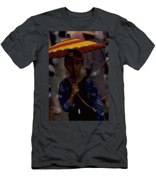 Japanese Girl Men's T-Shirt (Athletic Fit)
