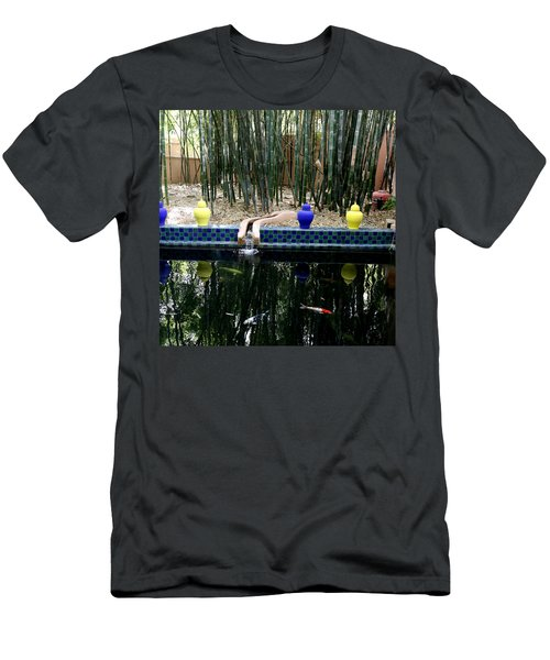 Men's T-Shirt (Slim Fit) featuring the photograph Jardin Majorelle by Andrew Fare