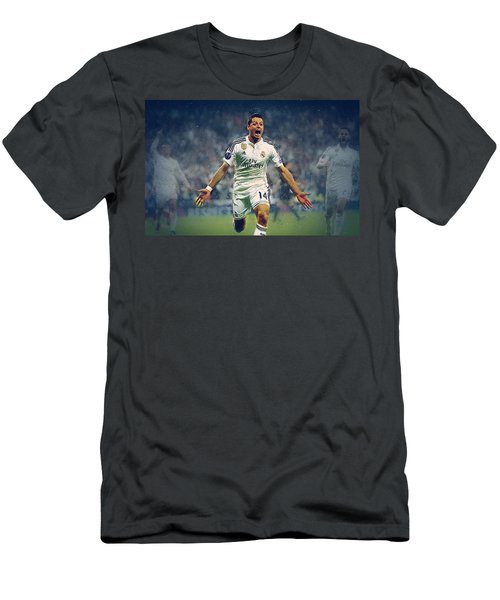 Javier Hernandez Balcazar Men's T-Shirt (Slim Fit) by Semih Yurdabak