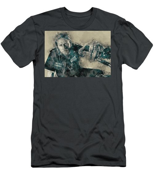 Jax Teller, Sons Of Anarchy Men's T-Shirt (Athletic Fit)