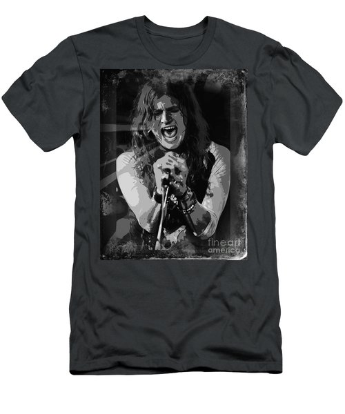 Men's T-Shirt (Slim Fit) featuring the mixed media Jay Buchanan by Jeepee Aero