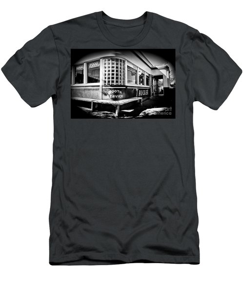 Men's T-Shirt (Slim Fit) featuring the photograph Jax Diner, Truckee by Vinnie Oakes