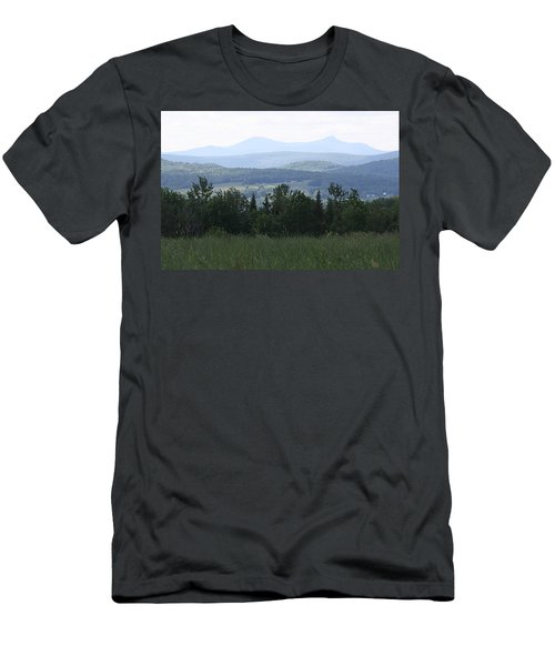 Jay Peak From Irasburg Men's T-Shirt (Athletic Fit)