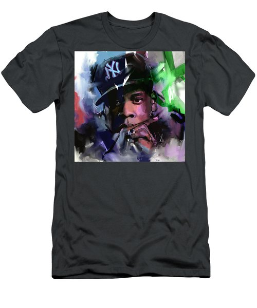 Jay Z Men's T-Shirt (Slim Fit) by Richard Day