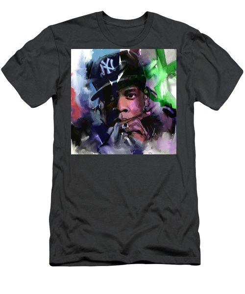 Jay Z Men's T-Shirt (Slim Fit) by Richard Day