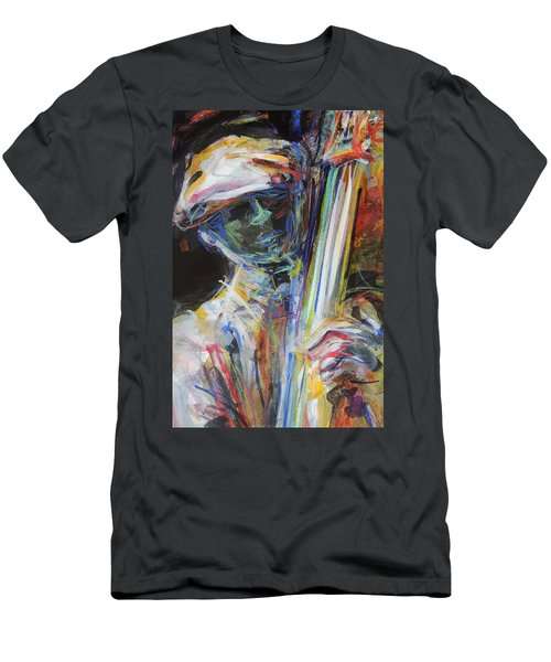 Jazz Man Men's T-Shirt (Athletic Fit)