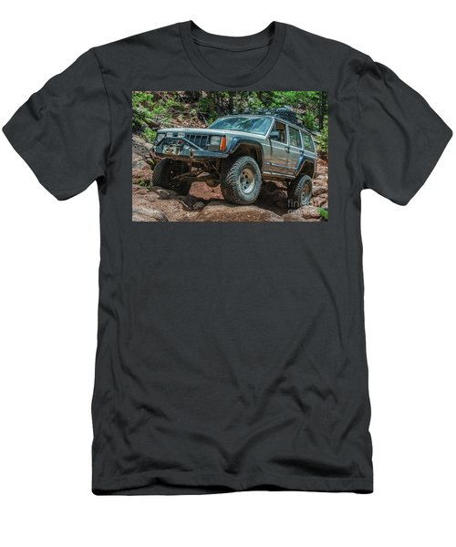 Jeep Cherokee Men's T-Shirt (Athletic Fit)