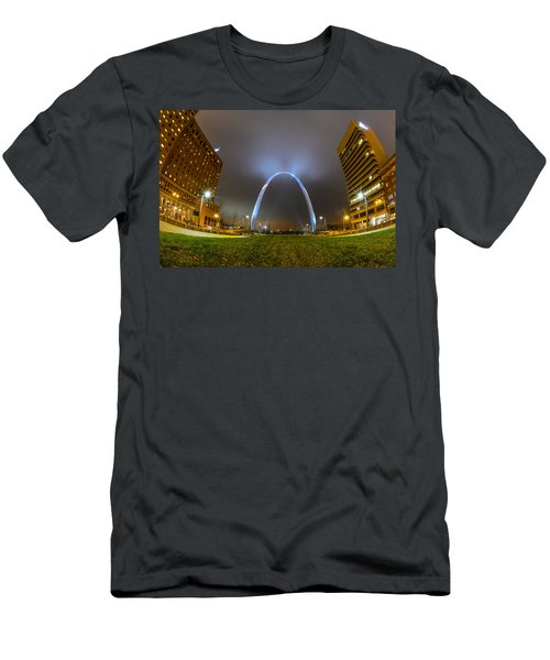 Jefferson Expansion Memorial Gateway Arch Men's T-Shirt (Athletic Fit)
