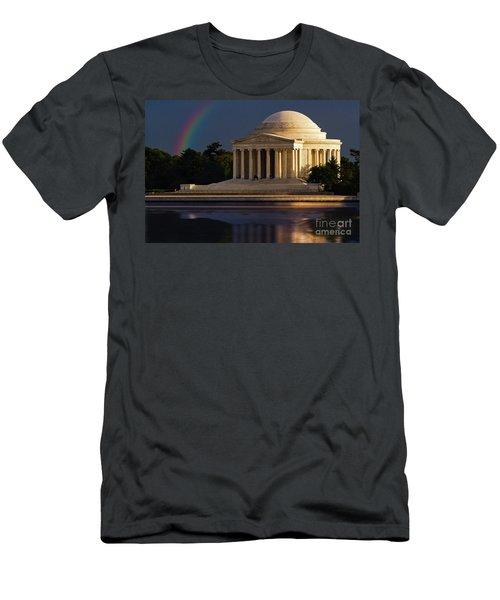 Jefferson Memorial Men's T-Shirt (Athletic Fit)