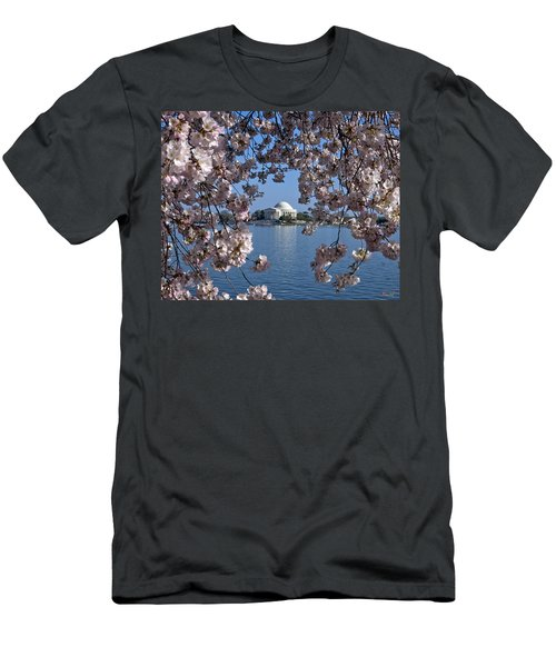 Jefferson Memorial On The Tidal Basin Ds051 Men's T-Shirt (Athletic Fit)