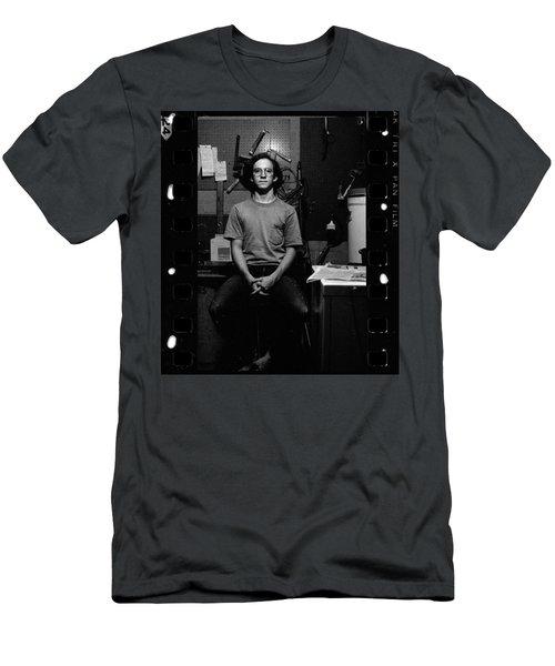 Self Portrait, In Darkroom, 1972 Men's T-Shirt (Athletic Fit)