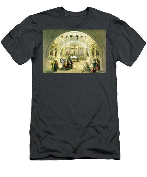 Jerusalem Calvery Men's T-Shirt (Athletic Fit)