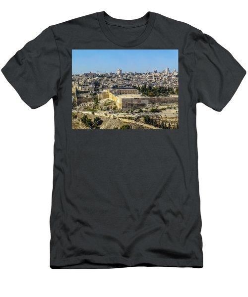 Jerusalem Of Gold Men's T-Shirt (Athletic Fit)