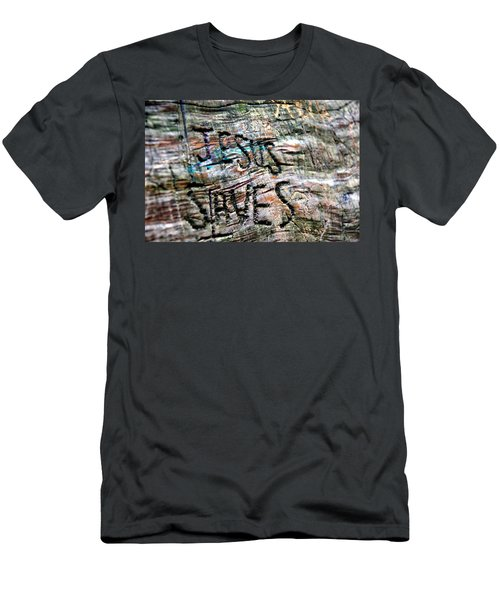 Jesus Saves Men's T-Shirt (Athletic Fit)