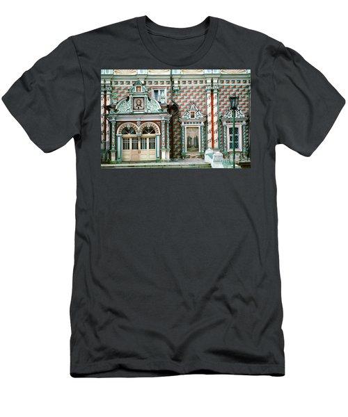 Jesus, Trinity Lavra Of St. Sergius Monastery Sergiev Posad Men's T-Shirt (Slim Fit) by Wernher Krutein