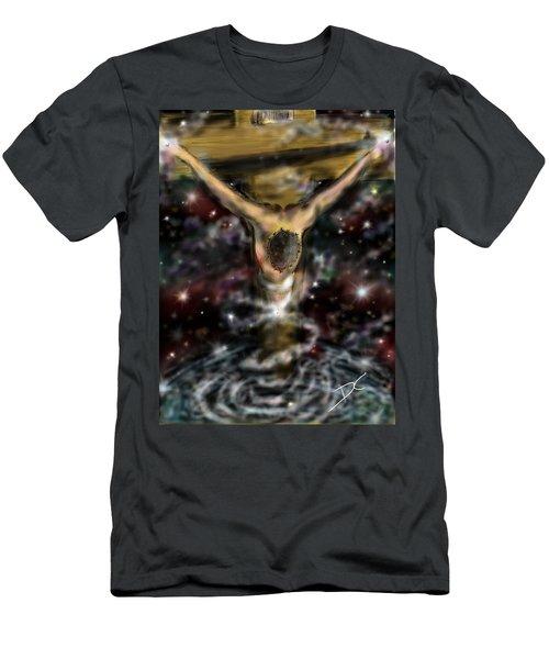 Jesus World Men's T-Shirt (Athletic Fit)