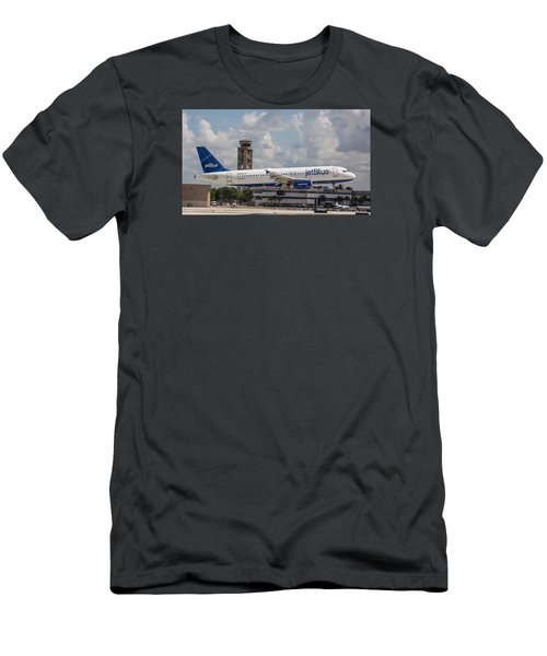 Jetblue Fll Men's T-Shirt (Athletic Fit)