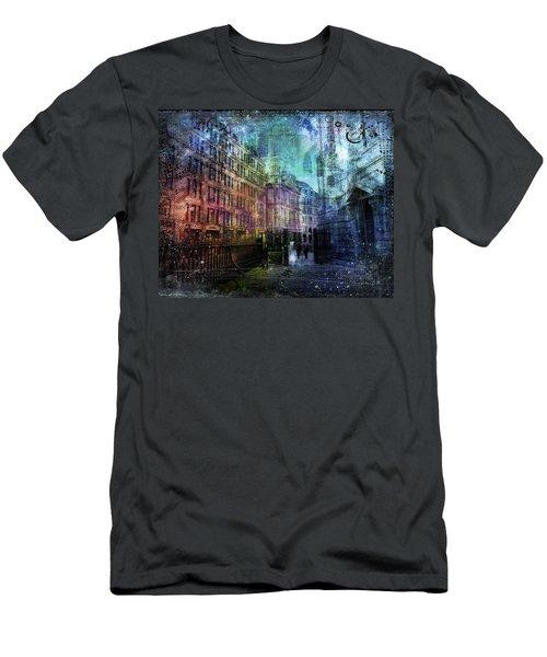 Jewel Night Men's T-Shirt (Athletic Fit)