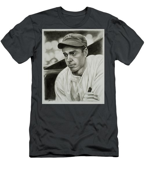 Joe Dimaggio Men's T-Shirt (Athletic Fit)