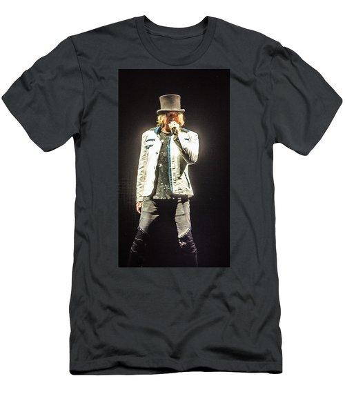 Joe Elliott Men's T-Shirt (Slim Fit) by Luisa Gatti