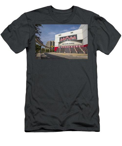 Joe Louis Arena Detroit  Men's T-Shirt (Athletic Fit)