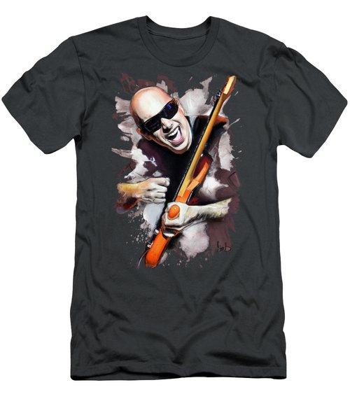 Joe Satriani Men's T-Shirt (Athletic Fit)