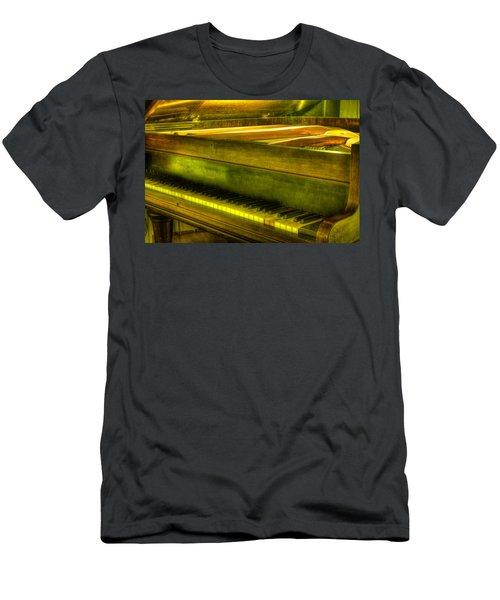 John Broadwood And Sons Piano Men's T-Shirt (Athletic Fit)