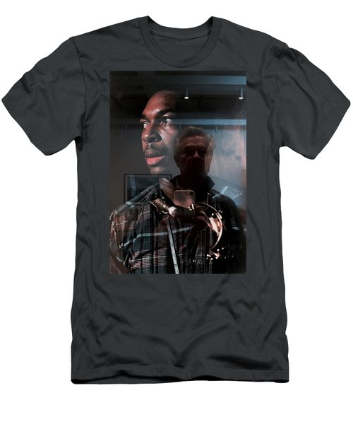 John Coltrane And Me Men's T-Shirt (Athletic Fit)