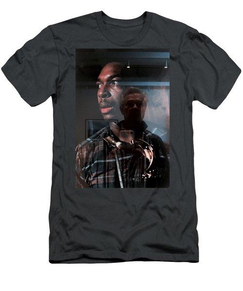 John Coltrane And Me Men's T-Shirt (Athletic Fit)