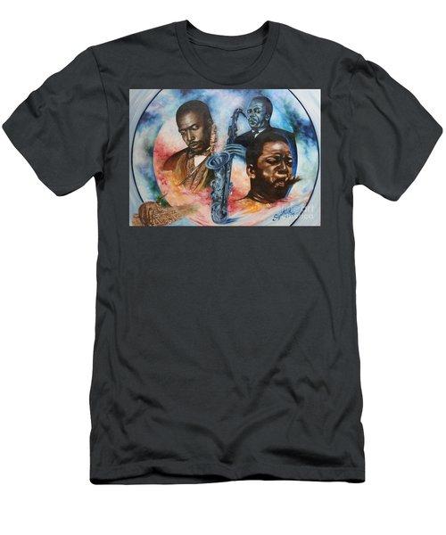 Blaa Kattproduksjoner     John Coltrane - Jazzed  Men's T-Shirt (Athletic Fit)