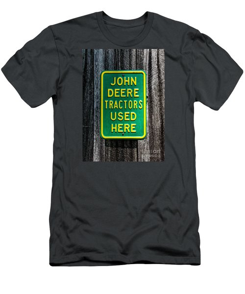 John Deere Used Here Men's T-Shirt (Athletic Fit)