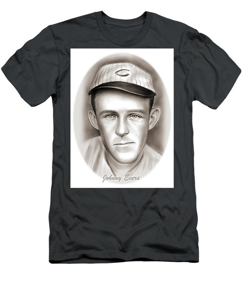 Johnny Evers Men's T-Shirt (Athletic Fit)