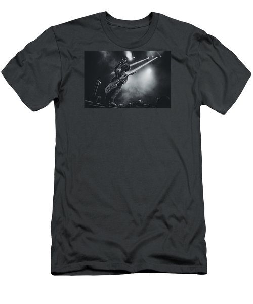 Johnny Marr Playing Live Men's T-Shirt (Athletic Fit)