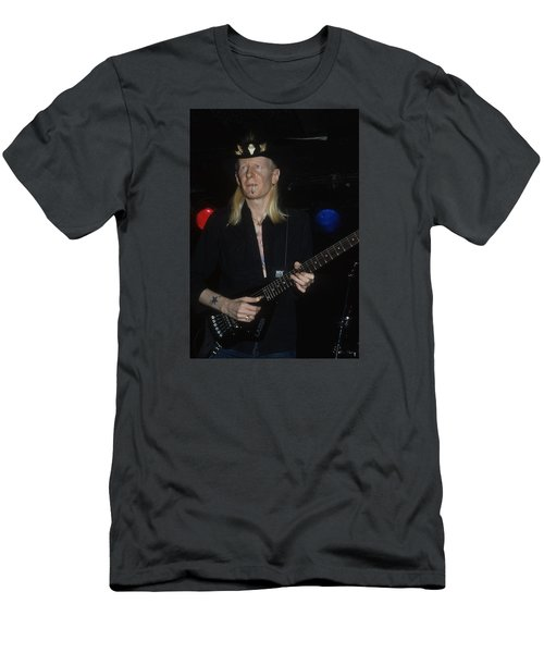 Johnny Winter Men's T-Shirt (Athletic Fit)